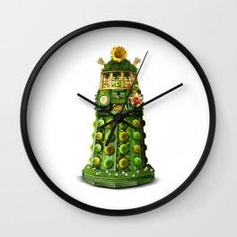 Germinate Germinate (on white) Wall Clock