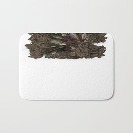 Impressive Brier Pattern  Bath Mat