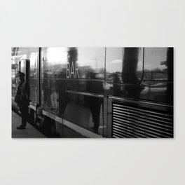 La voiture bar Canvas Print