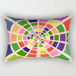 Roue multicolore Rectangular Pillow