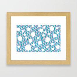 Implied Hexi Series 1 Framed Art Print