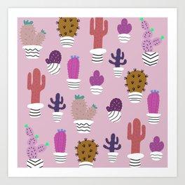 Sedona arizona desert blooms Art Print