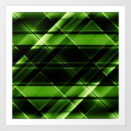 modern stripes pattern c6 Art Print