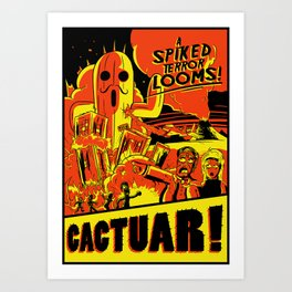 Cactuar Art Print