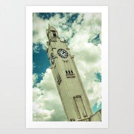 Tour de l'Horloge Art Print