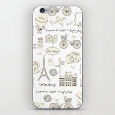 I {❤} Travel iPhone & iPod Skin