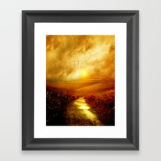 Colors Of Spring Framed Art Print