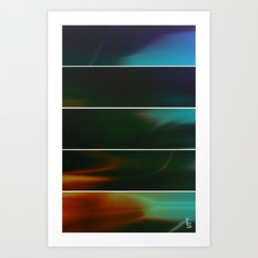 Storm Front (Five Panels Series) Art Print