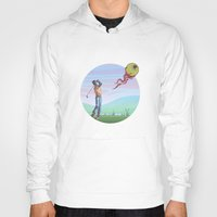 golf Hoodies featuring Zombie golf by Valentin Cottereau