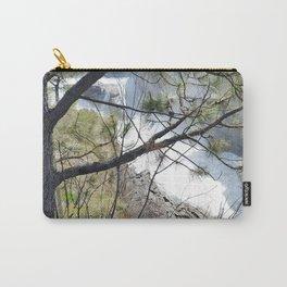 Post Falls, Waterfalls, Pretty Landscape, Beautiful Scenery Carry-All Pouch
