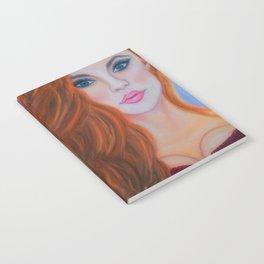 Glamorous Redhead Jessica Rabbit Notebook