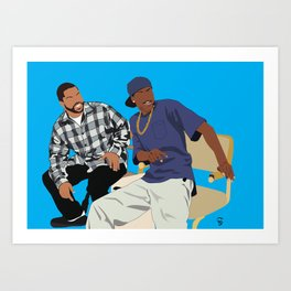 Friday Movie Classic Movie Poster - 90's Art, Hip Hop Poster, Black Art, Home Office Art, dorm art Art Print