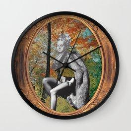 Debutante_1 Wall Clock