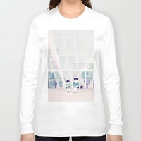 home sweet home Long Sleeve T-shirts featuring Home sweet home by Salome Gautier