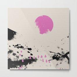 Pink vibe 1 Metal Print