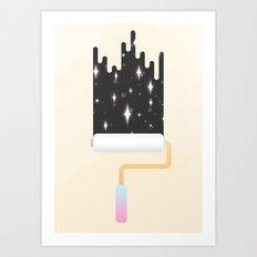 I Show You the Stars Art Print