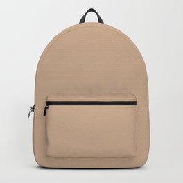 Hazelnut | Pantone Fashion Color Spring : Summer 2017 | Solid Color Backpack