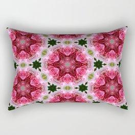 Geranium as dwarf - pattern no 48 Rectangular Pillow