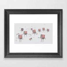 Go Play Outside Framed Art Print