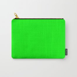 Neon Green Carry-All Pouch