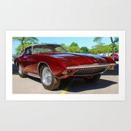 Rare 1963 Shelby Cougar II Art Print