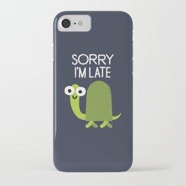 Tardy Animal iPhone Case