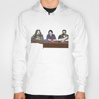 lebowski Hoodies featuring The Big Lebowski by Josh Ross Illustration