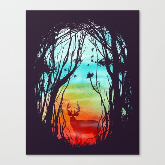 Lost In My Dreams Canvas Print