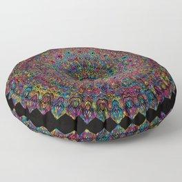 Blooming Rainbow Floor Pillow