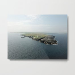 Ballyglass lighthouse ,Ireland Metal Print