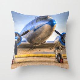 Malev Lisunov Li-2 Throw Pillow