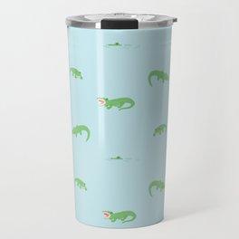see you later, alligator. Travel Mug