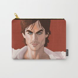 Ian Somerhalder from the Vampire Diaries swag based off comic book cover Carry-All Pouch
