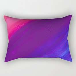 Dark and Dreamy Sunset Colors Rectangular Pillow