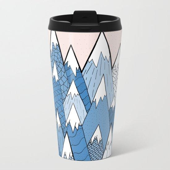Winter Woodland Metal Travel Mug