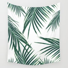 Green Palm Leaves Dream #2 #tropical #decor #art #society6 Wall Tapestry