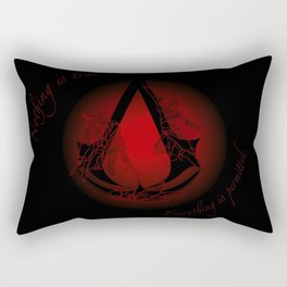 Everything is Permitted Rectangular Pillow