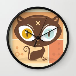 The cat did it... Wall Clock