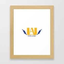 ua high school Framed Art Print