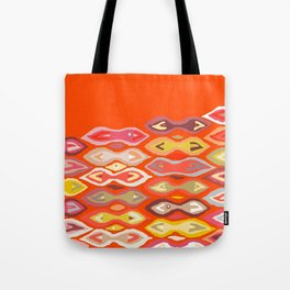 Raveena ikat Tote Bag