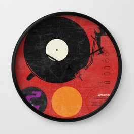 2 much Funk Wall Clock