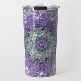 Fractal Wreath Travel Mug