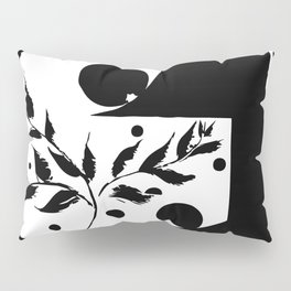 Plants & polka dots Pillow Sham