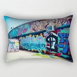 Graffiti Art Alley Rectangular Pillow