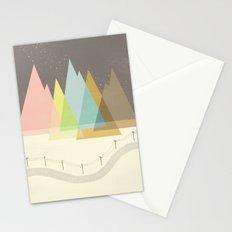 Highway Under Stars Stationery Cards
