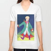 le petit prince V-neck T-shirts featuring Le Petit Prince by parkers
