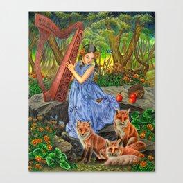 Marigold Sonata Canvas Print