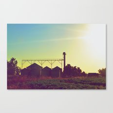 The Silos Canvas Print