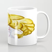 pisces Mugs featuring Pisces by Aloke Design
