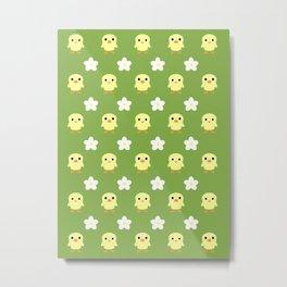 spring pattern 2 Metal Print